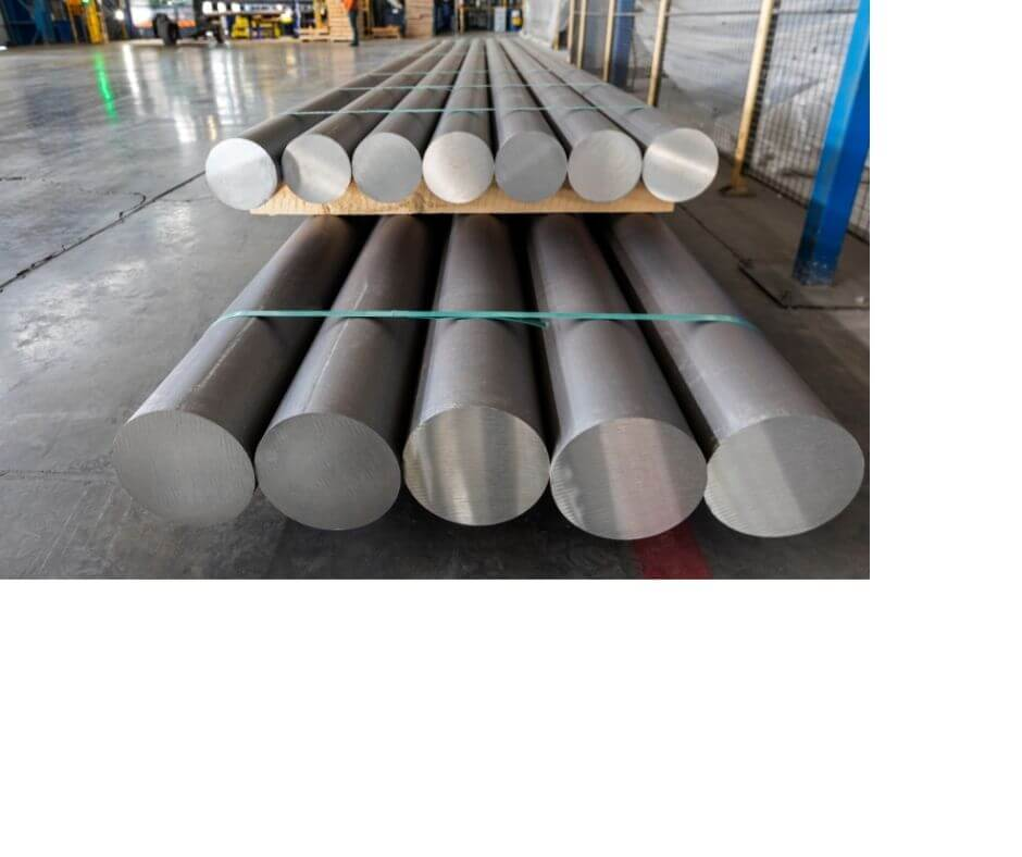 Extrusion billets in the factory