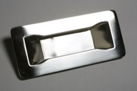 Polished Stainless Steel Door Handle